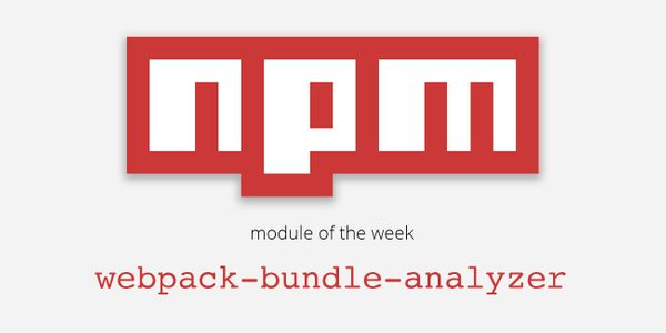 NPM module of the week: webpack-bundle-analyzer